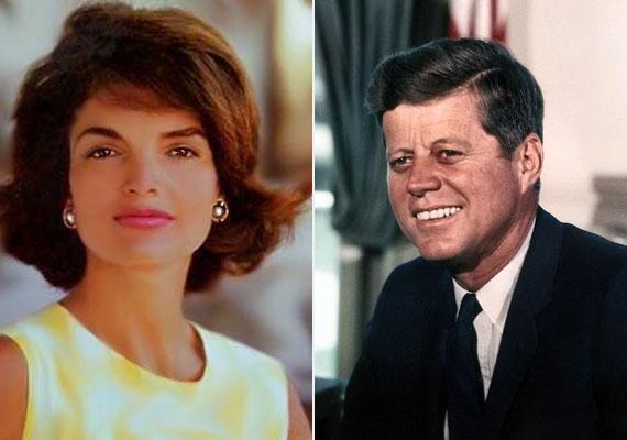 John Kennedy, az Amerikai Egyesült Államok 35. elnöke és Jackie Kennedy házassága 1953-tól 1963-ig, az elnök meggyilkolásáig tartott.