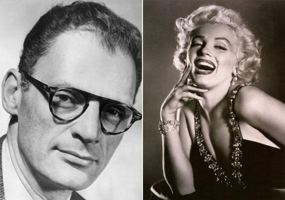 Marilyn Monroe és Arthur Miller 1956-ban házasodtak össze, és öt évig tartott a házasságuk.