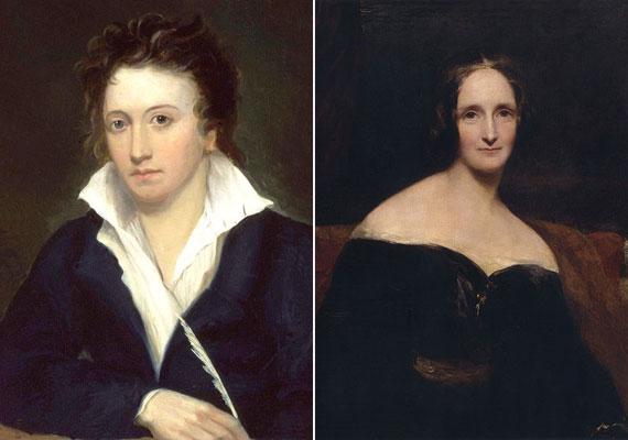 Mary Shelly, a Frankenstein szerzője és a költő Percy Shelly fiatalon szerettek egymásba, a 19. század elején, de a lány apja megtiltotta a házasságukat, így aztán nyitott kapcsolatban éltek a költő tragikus haláláig.