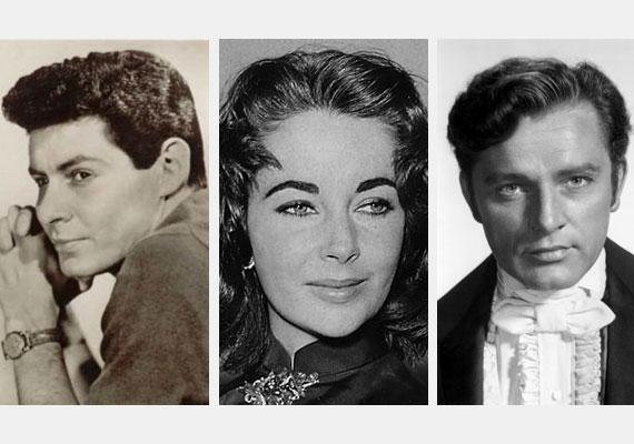Bár Elizabeth Taylor negyedik férjét, Eddie Fisher - balra - énekest akkori feleségétől, Debbie Reynolds-tól csábította el - aki mellesleg neki is barátnője volt -, később egy másik férfi, Richard Burton kedvéért hagyta el, miután egy ideig párhuzamosan zajlott a két kapcsolat.