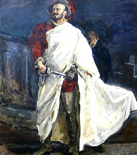 Don JuanA legendás 14. századi szeretőről valójában alig tudni valami biztosat, ám annál több legenda övezi alakját. A szép szavakkal és bókokkal csábító lovag karaktere valószínűleg az irodalomnak köszönhető, és több mint valószínű, hogy Don Juan a valóságban inkább erőnek erejével tette magáévá szerelmeit – nem véletlenül vált a donhuánizmus a pszichológiában a nimfománia férfi megfelelőjévé.