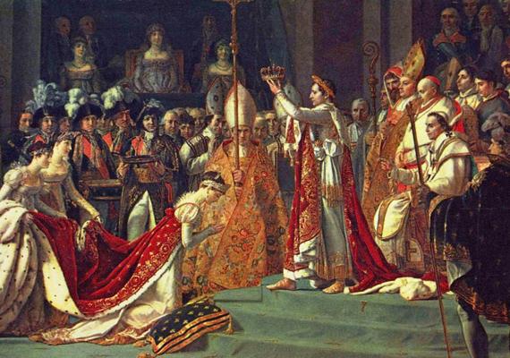 Jozefina Napóleon első felesége volt. Annak ellenére, hogy a nő hűtlenségéről sok pletyka keringett, Napóleon tiszta szerelemmel szerette őt. Frigyük mégis válással végződött, mert a nő nem tudott gyereket szülni. Napóleon szerelme sosem szűnt meg a nő iránt a válás után sem.