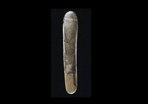 A kutatók szerint akár a világ egyik első szexjátékszere is lehetett ez a 28 ezer évvel ezelőttről származó kőtárgy.