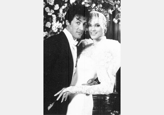 Sylverster Stallone 1986-ban a Kobra című filmben szerepelt együtt a dán modell-színésznő-énekesnő-realityshowsztárral, Brigitte Nielsennel, akit el is vett, ma azonban már nem alkotnak egy párt.
