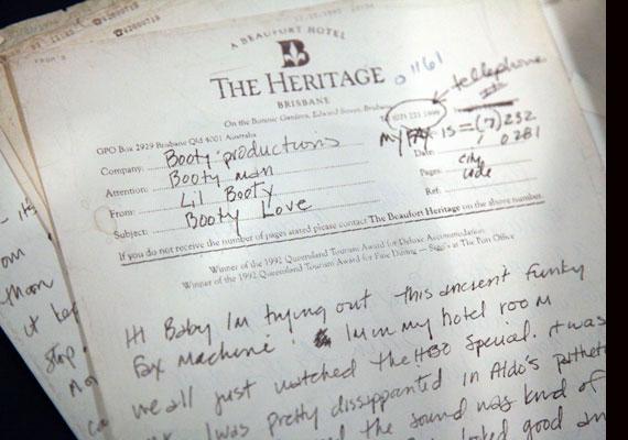 A Madonna által, a nyolcvanas években írt szerelmes levelek közül is nyilvánosságra került néhány.