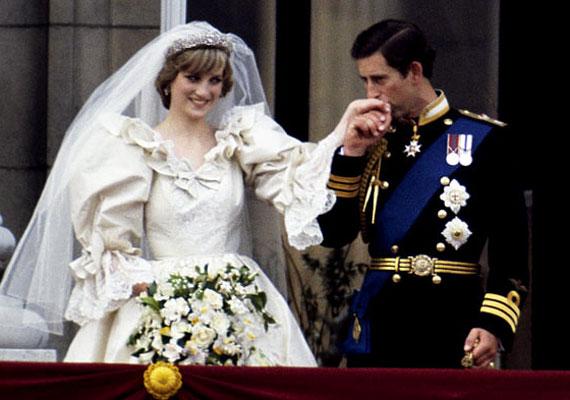 Diana és Károly herceg esküvőjére 1981. július 29-én került sor.