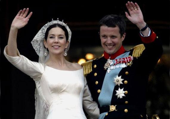 Frigyes dán herceg 2004. május 14-én a koppenhágai székesegyházban vette feleségül Mary Elizabeth hercegnőt.