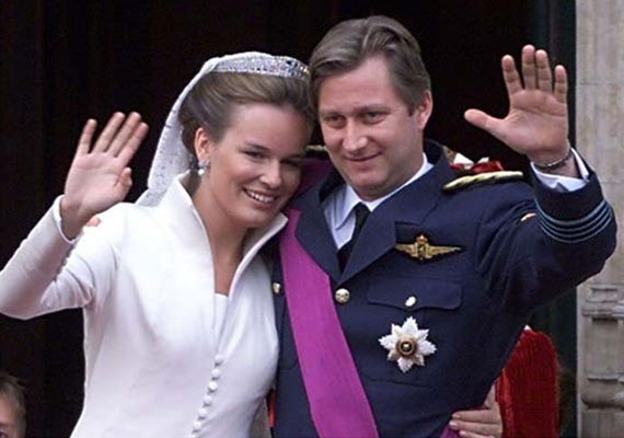 Fülöp belga királyi herceg 1999. december 4-én vette feleségül a nemesi származású Mathilde d'Udekem d'Acoz-t.