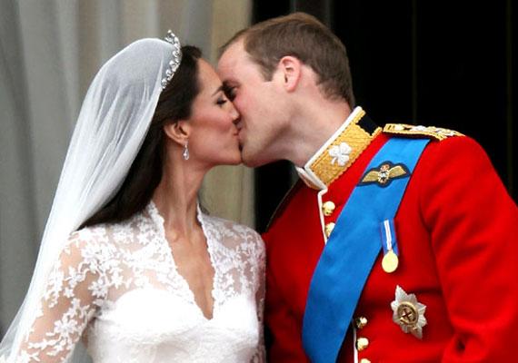 Vilmos herceg és Kate Middleton esküvője 2011 áprilisában volt.