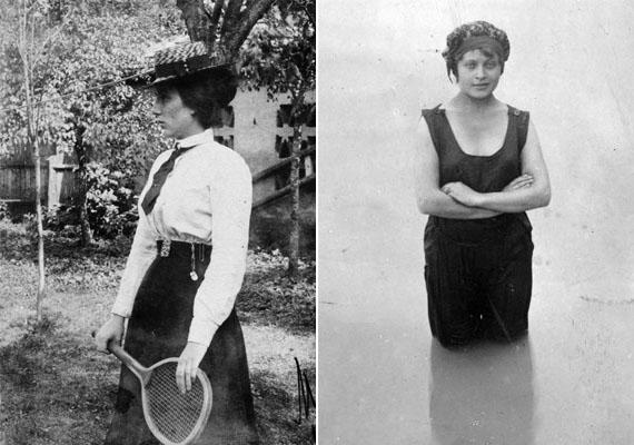 Nemcsak a férfiak, a nők is sportoltak már 1900-ban, de jobbára a tehetősebb hölgyeké volt a kiváltság. A lovaglás, az úszás és a tenisz is kedvelt női sportok voltak, és ebben az évben rendezték az első olyan olimpiát, ahol már női versenyzők is voltak.(1900, 1901)