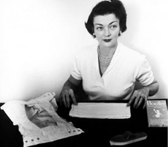 Világszerte szülők milliói adhattak és adhatnak hálát Marion Donovannak, aki feltalálta az eldobható pelenkát 1949-ben.