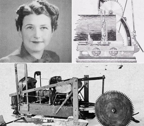 A körfűrészről senki sem sejtené, hogy női találmány, pedig az. Feltalálója Tabitha Babitt bútorkészítő volt az 1800-as évek elején, aki nem kért szabadalmat az ügyes masinára.