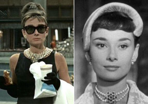 A törékeny Audrey Hepburnt kecsessége és nőiessége miatt méltán választhatod példaképül. Gyönyörűen ívelt tusvonal a szemein, finoman rúzsozott ajkak, gyöngysor - mi lehetne ennél nőiesebb és csábítóbb a férfiszemnek?