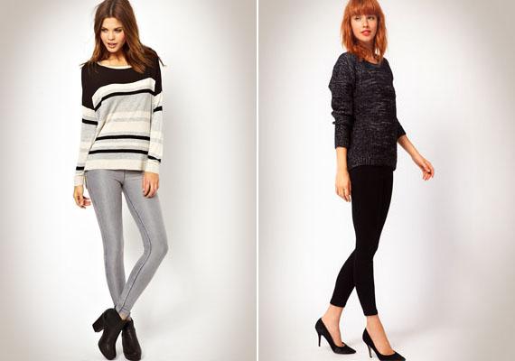 A leggings a pasik nagy kedvence a nőkön.- Nekem a fekete és a farmerszerű leggingsek tetszenek a legjobban a nőkön. Ha a barátnőm ilyet vesz fel, nem maradhat sokáig rajta... (Gábor, 26)