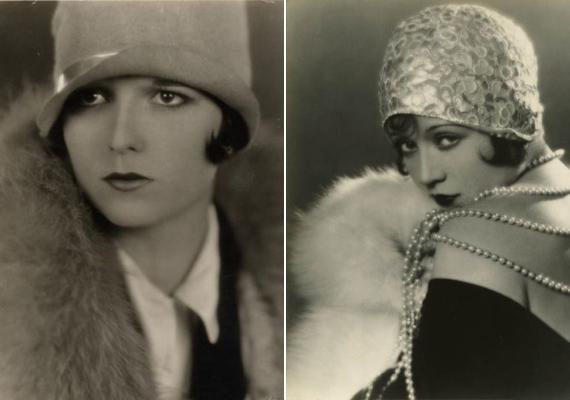 A 20. század hajnalán az óriási ruhákat felváltották a praktikus, könnyed darabok. A nőideál a fiús, sportos, magas nő, jellemzően bubifrizurával. A harmincas években a ragyogó, naiv nő volt a favorit. A képeken Flapper Louise és Sally O'Neil amerikai színésznő.