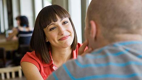 A srác testbeszéde, amikor randi