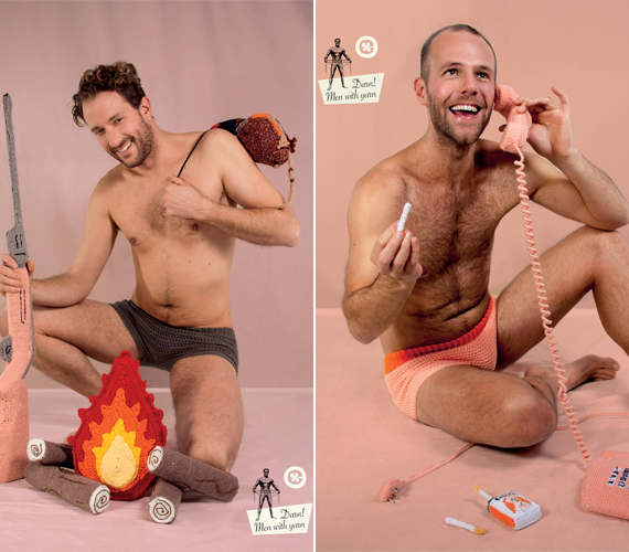 Ajjaj... a horgolt tűz és a puska még hagyján, de ez a telefonos kép az irtó szexi horgolt cigivel már egy kicsit sok.