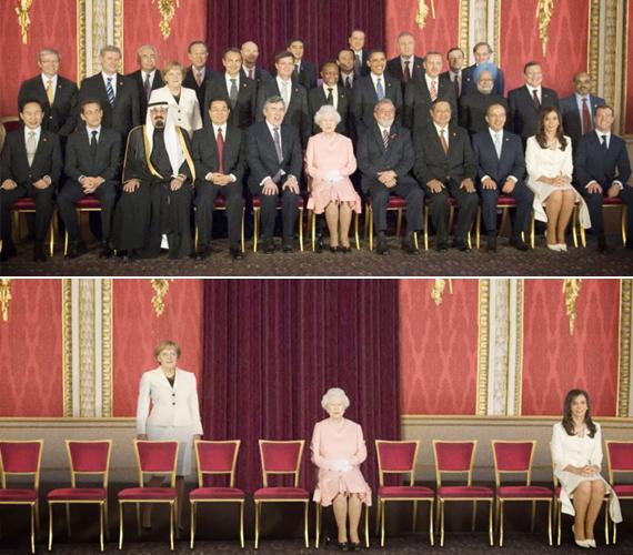 Képeik jól érzékeltetik, hogy a nemek aránya nem kiegyenlített a politikában. Látható, hogy ha Photoshoppal eltüntetik a férfi politikusokat a fotókról, egy-három nő marad mindössze, akik elvétve fedezhetőek fel a politikusi székekben.