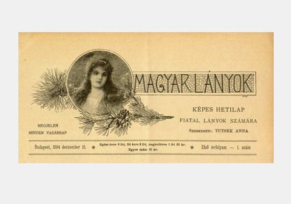 Hamar feltűntek a tinimagazinok is, 1895 és 1944 között jelent meg a Tutsek Anna által szerkesztett Magyar Lányok című újság, mely a tizenéves lányokat látta el háztartási és szerelmi tanácsokkal.