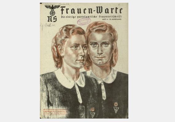 A második világháború és a viharos politikai változások a magazinokat sem kímélték. Íme, egy lap a náci Németországból.