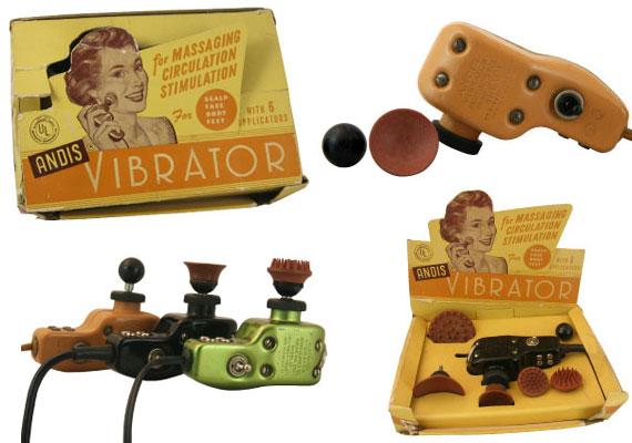 Az 1942-es Andis Vibrator megalkotásánál szem előtt tartották az esztétikát is.