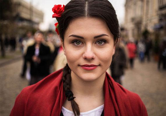 Moldovai szépség.