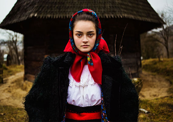 Romániai szépség.