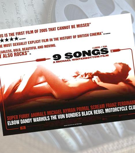 9 dal - 2004Michael Winterbottom művét a filmértő közönség azért támadta, mert nemcsak, hogy élesben szexelnek a színészek, de kérdéses, hogy a rockkoncertek közé illesztett gyönyörnek mennyire van mélyebb mondanivalója. Korábban emiatt a cenzúra nagyítója alá is került, ma már azonban vágatlanul megtekinthető akár DVD-n is.
