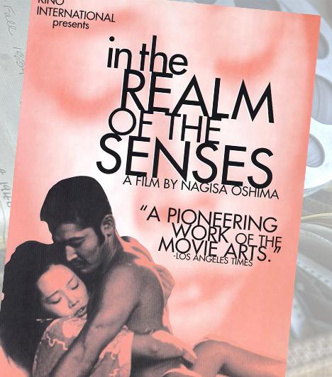 Érzékek birodalma - 1974Nagisa Oshima filmje halál és szerelem kapcsolatát mutatja be az enciklopédikus jellegű szexjelentek során. Kichizó és Sada a szexuális örömszerzés minden formáját kipróbálják, de ahogy egyre mélyebbre merülnek a kéj óceánjában, úgy egyre durvább dolgokra van szükségük az izgalom fenntartásához.
