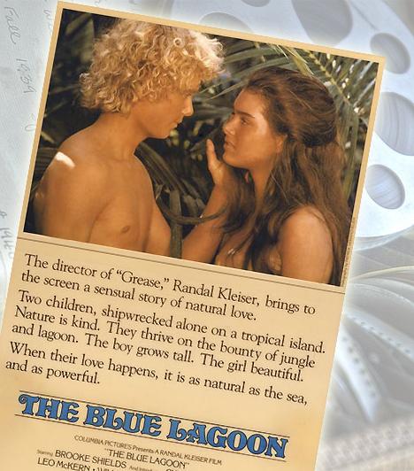 Kék lagúna - 1980Ki ne lenne kíváncsi a bimbózó szexualitását felfedező, gyereklányra - Brooke Shieldsre? Bár a Kék lagúna nem a legbujább erotikus film, a fiatal szerelmesek története sok férfi fantáziáját felcsigázza.Kapcsolódó cikk:5 izgató, erotikus film csajoknak »
