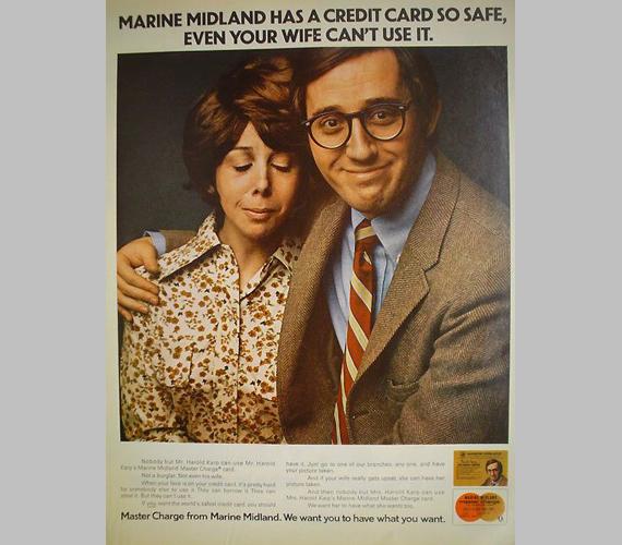Marine Midlandnek olyan biztonságos bankkártyája van, hogy még a felesége sem tudja használni.