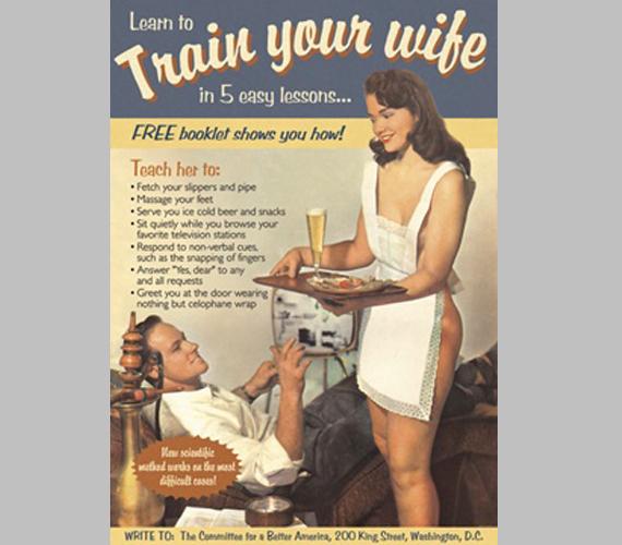 Idomítsd be a feleséged!