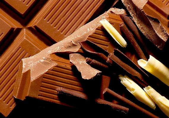 A csoki a szerotoninszintet emeli, és segít a fáradtság leküzdésében.