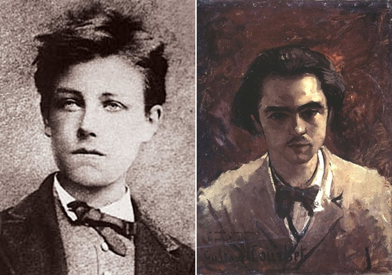 Arthur Rimbaud költő alig múlt 18 éves, amikor az irodalmi körökben már akkor is elismert Paul Verlaine-hez költözött. Annak ellenére, hogy Verlaine nős volt, felesége pedig gyermeket várt, a két férfi szexuális kapcsolatot kezdett. Egy év sem telt el, Rimbaud egyre kevésbé akart eleget tenni a Verlaine igényeinek, aminek az lett a vége, hogy utóbbi rálőtt a fiatal költőre. Bár csak a csuklóján találta el, románcuknak végleg befellegzett.