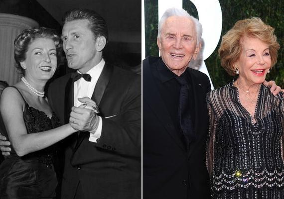 Idén ünnepli 60. házassági évfordulójátKirk Douglas és Anne Buydens.1953-ban találkoztak először egy forgatáson, majd a következő évben Las Vegasba szöktek, és összeházasodtak.