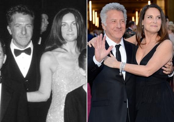 Dustin Hoffman számára második házassága hozta meg a sikert: 34 éve lépett frigyre Lisa Gottsegennel, akivel négy gyereket neveltek fel.
