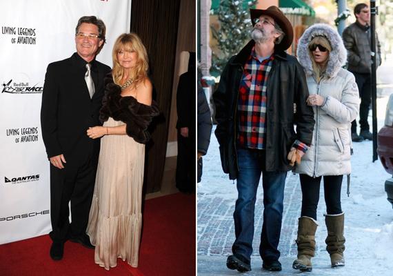 Habár Kurt Russel és Goldie Hawn nem házasodtak össze, 1983 óta egy párt alkotnak. Hollywoodi berkekben ritka, hogy ilyen hosszú időt megér egy párkapcsolat.