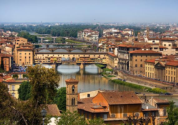 Akár egy hógömb belseje, úgy fest Firenze is. Csak némi csillámpor hiányzik még, hogy teljesen magával ragadjon.