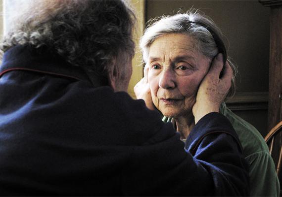 A Szerelem című francia film egy idős házaspár életét mutatja be, akik több évtized elteltével is kamaszként szeretik egymást. Azonban amikor az asszony két agyvérzés után lebénul és magatehetetlenné válik, a férje úgy dönt, ő maga fogja ápolni az otthonukban.