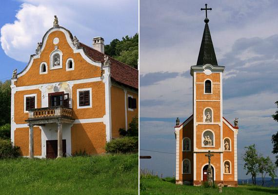 A Szent György-hegyen járva nem csak a bazaltorgonákat érdemes megnézned. A Hegymagas község melletti barokk stílusban épült Lengyel-Tarányi-présházat, valamint a Lengyel-kápolnát muszáj beiktatni egy balatonfelvidéki romantikus túraútvonalba.