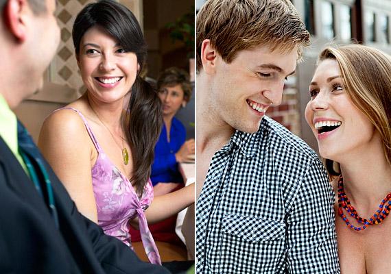 Társaságban és kettesben is jókat tudtok együtt nevetni? Ez azt jelenti, hogy egy hullámhosszon vagytok, megvan a kapocs kettőtök között, és szívesen töltitek együtt az időtöket. Ez pedig egy kezdődő párkapcsolatban jó eséllyel a szerelem jele.