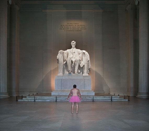 Lincoln-emlékmű, Washington, 2012.