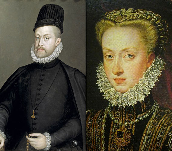 II. Fülöp spanyol király negyedik felesége unokahúga, Habsburg Anna volt.