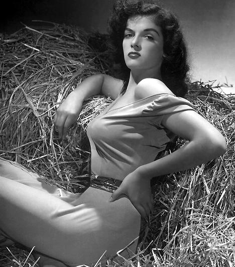 Jane Reussel és a push-upJane Russel, bár nem tartozott a kiskeblű hölgyek közé, A törvényenkívüli című film plakátján nem maguktól domborodnak ilyen feszesen mellei. 1943-ban, ebben a filmben viselte először a szexi nő leghatásosabb fegyverét: a push-up melltartót, amit Howard Hughes rendező ötlött ki a számára.