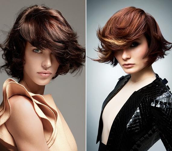 Az egyenes haj egészen másképp mutat, ha nem befelé formázva, hanem kifelé húzva készíted el.