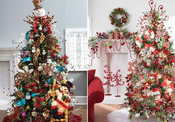 Ha a játékos megoldások híve vagy, akkor a hóemberes és karácsonyi műhelyes fadíszítés biztosan elnyeri tetszésedet.