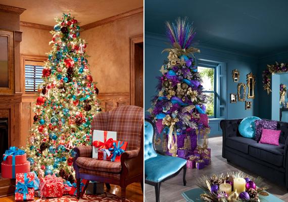 Nem kell, hogy feltétlenül a piros, zöld és fehér színek domináljanak. A szivárványszínekben pompázó, illetve a kék-lila összeállítású dekoráció is igazán alkalomhoz illő tud lenni.