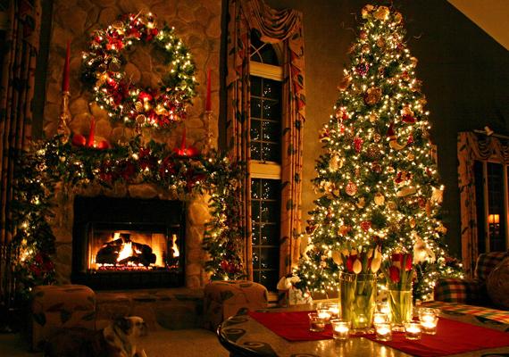 Szinte érezni a kandalló melegét és a fenyőfa illatát. Kattints ide a nagy felbontású képért! »