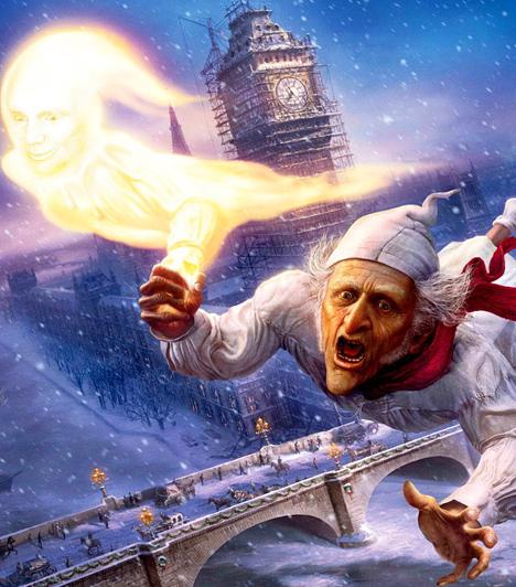 Karácsonyi ének  Az 1800-as évek Londonja, karácsony idején. Az ünnep iránt semmilyen kötődést sem érez Ebenezer Scrooge, a kapzsi és szívtelen öregember. Egész életében csak a pénz érdekelte, az érzelmekre, az emberi kapcsolatokra nem pazarolt időt. Ám ez a karácsony más, mint a többi. Scrooge-ot meglátogatja a múlt, a jelen és a jövő karácsony szelleme, akik magukkal viszik egy időutazásra. Szembesítik addigi kiábrándító életével, érzéketlenségével és hamarosan bekövetkező halálával. A fösvény és mogorva vénember kap egy utolsó lehetőséget, hogy átértékelje az életét, és nemcsak a saját, hanem környezete sorsát is megváltoztassa.