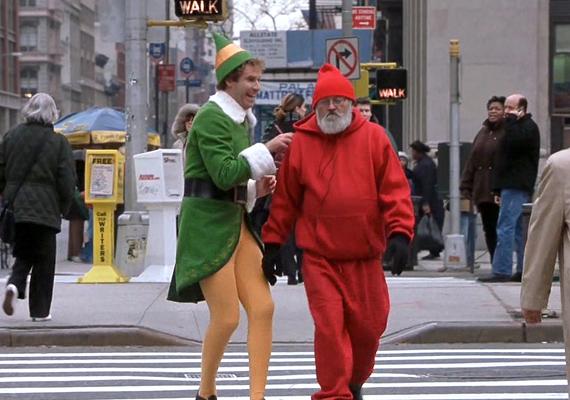 Mi a manó, 2003: Buddy, a kétméteres manó az Északi-sarkon nevelkedik, ám amikor megtudja, igazi apja New Yorkban él, felkerekedik, hogy megkeresse.